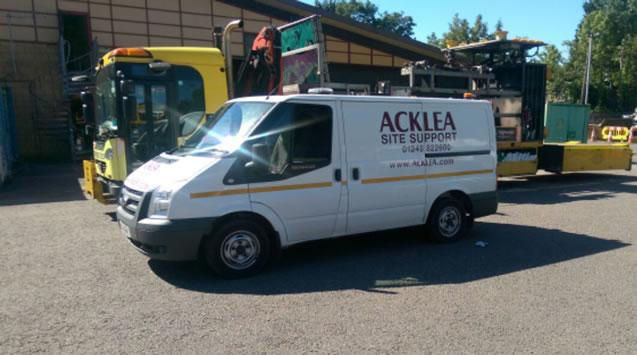Acklea Service Vehicle